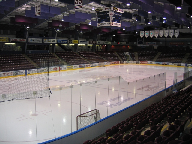 2,781 arena opened in 2004 and is home to the Grizz and Victoria Shamrocks
