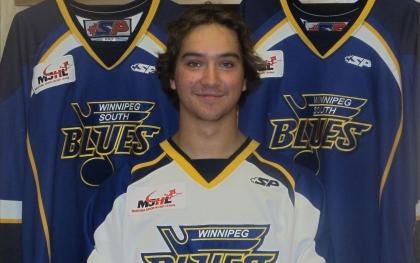 Photo: Winnipeg Blues / MJHL