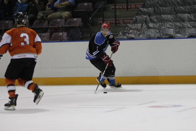 Hilderman, seen here in pre-season action, will suit up for the 'dogs in 2016