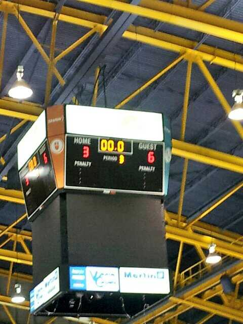 Six goals, in the Vees sixth straight win.