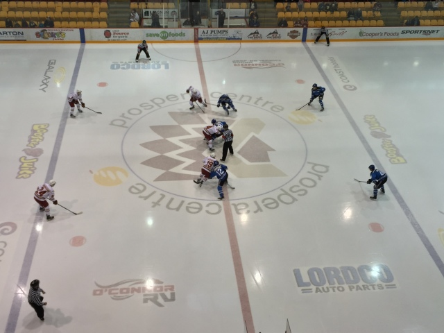 The view high above at Prospera Centre in Chilliwack