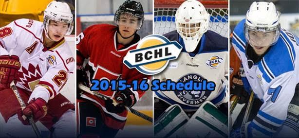BCHL Schedule